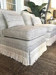 slipper chair slipcover atlanta home for the holidays showhouse holidays upholstery and
