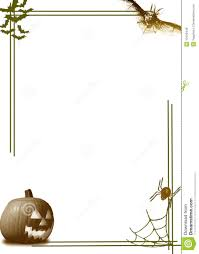 Free Halloween Borders And Frames Halloween Pumpkin Border Royalty Free Stock Image Image 10492446
