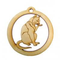 a collection of cat ornaments for your favorite cat lover