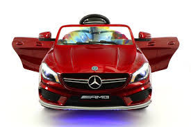 cars mercedes red moderno kids electric ride on cars for kids