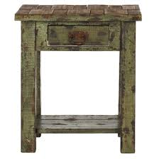 End Table Storage Alfred End Table With Storage Drawer Antique Green Safavieh