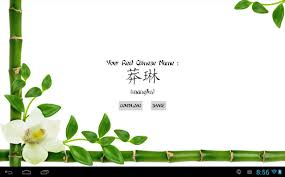 how to write paper in chinese my real chinese name android apps on google play my real chinese name screenshot