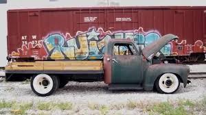 Classic Chevy Dually Trucks - slammed chevy 6400 flat bed rod