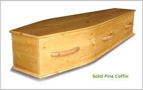 pine coffin a coffin coffin wood