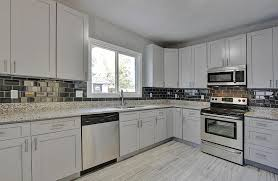 grey shaker cabinet gallery custom kitchen cabinets stone
