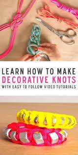 jewelry how to tie decorative knots by kollabora skillset