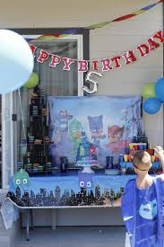belle vie pj masks birthday party belle vie