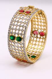 colored stone bracelet images American diamond bracelets exporter manufacturer distributor jpg