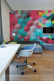 Decoration Geometric Wall Decals Home by Geometric Wall Murals From Pixers Homeadore