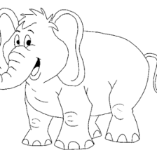 big elephant coloring archives mente beta complete