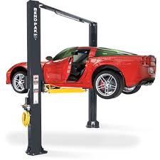 2 post lift low pro arms sports car lift low profile two post