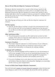 Resume Template Career Objective Basic Economic Thesis Of The Federalist Papers Ap Spanish Exam