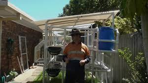 chicken fodder crops chook pen backyard run tractor poultry youtube
