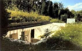 homes built into hillside earth sheltered homes insteading