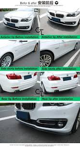 mitsubishi galant body kit bumper lip deflector lips for renault symbol thalia citius