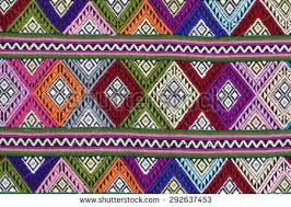 Colorful Aztec Rug Seamless Colorful Aztec Geometric Pattern Stock Vector 144443092