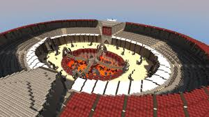 Minecraft Pvp Maps Gladiator Arena Team Deathmatch Pvp Map With 3 Classes Lives