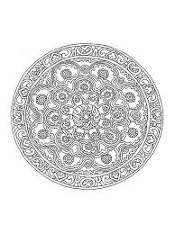 mandala difficult 1 mandalas coloring pages for adults justcolor