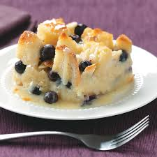 over the top blueberry bread pudding recipe taste of home