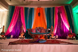 Indian Wedding Reception Themes by Baltimore Md Indian Wedding By Photographick Studios Maharani