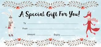 online gift certificate templates custom gift certificate