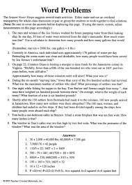 the word problems in this printable worksheet are all based on