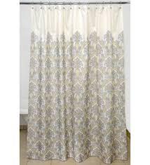 Geometric Burnout Shower Curtain Tan Ivory Damask Burnout Sheer Curtain Ideas Damask Curtains