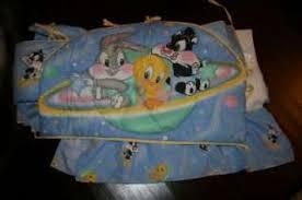 Looney Tunes Crib Bedding Baby Looney Tunes 3 Crib Bedding Set On Popscreen