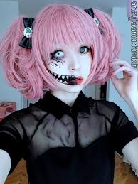 Make Up For Halloween Anzujaamu Creepy Cute Makeup For Halloween Makeup Pinterest