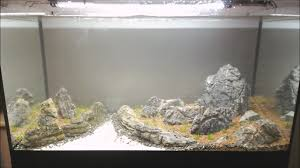 Dramatic Aquascapes Rocky Shore U0027 100l Iwagumi Aquascape Youtube
