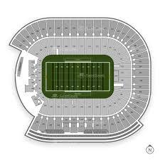 Arrowhead Stadium Map Tcf Bank Stadium Seating Chart U0026 Interactive Seat Map Seatgeek