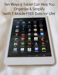 ten ways a tablet can help you organize and simplify with t