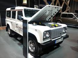 land rover electric geneva live land rover electric defender research vehicle