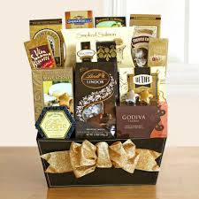 gourmet chocolate gift baskets and fancy gourmet gift basket the gift crew