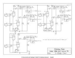 vampower 100 watt amplifier schematic diagrams