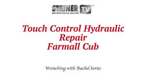 1950 international mccormick farmall cub manual touch control hydraulics on a farmall cub youtube