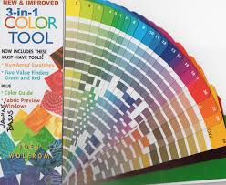 color tool joen wolfrom s color tool for quilters knitters and other color