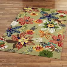 Tropical Kitchen Rugs Tropical Area Rugs In Black U2013 Home Design And Decor