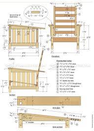 Morris Chair Morris Chair Plans U2022 Woodarchivist
