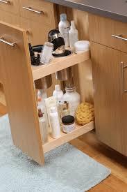 Under Bathroom Sink Storage by Bathroom Cabinets Shelves That Slide Slide Out Pantry Under