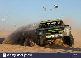 rally truck racing bj baldwin hits the sand drags with the monster trophy truck