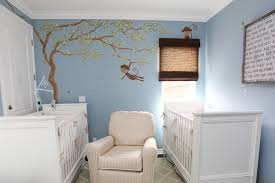 beautiful white blue wood modern design boys room bedroom kids