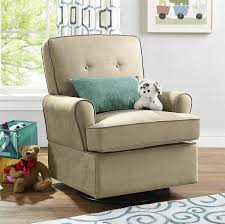 Upholstered Rocking Chair For Nursery Amazon Com Baby Relax The Tinsley Nursery Swivel Glider Chair