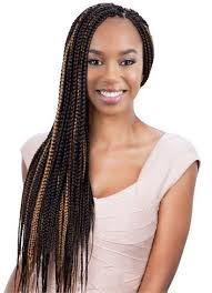 medium box braids with human hair model crochet braid box braid small medium large