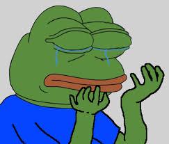 Depressed Frog Meme - the origin of the sad frog meme