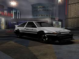 wanted toyota corolla toyota corolla gt s ae86 need for speed most wanted rides nfscars
