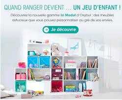 jeux de rangement de la chambre meubles de rangement chambre enfants izi modul oxybul eveil et jeux