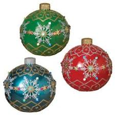 new large 18 electric lighted poly resin ornament