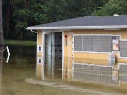 hidden village apartment complex floods traps residents u2013 wuft news