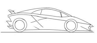 draw a lamborghini sesto elemento junior car designer